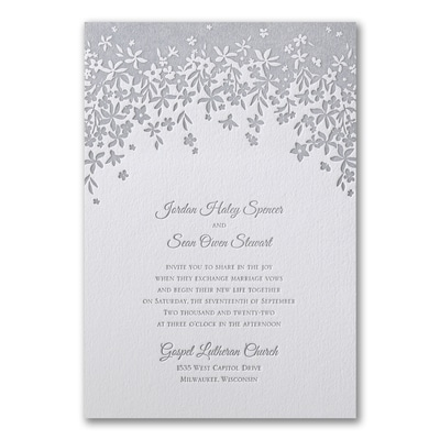 Darling Floral - Invitation