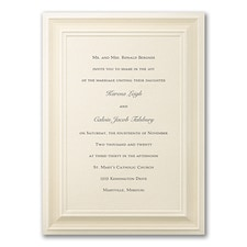 Border invitation: A Royal Frame