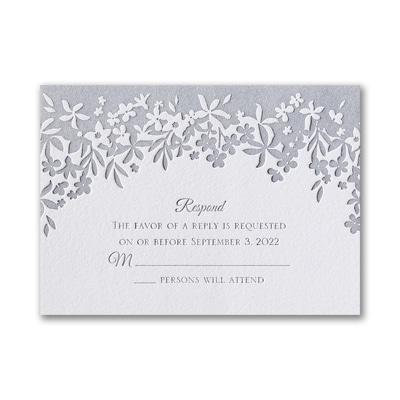 Darling Floral - Response Card and Envelope
