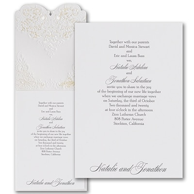 Beautiful Vows - Invitation