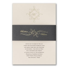 Best Selling Wedding Invitation: Simply Magic