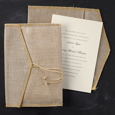 Positively Rustic - Invitation