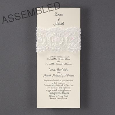 Cherished Lace - Invitation
