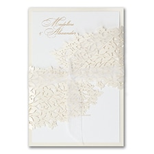 laser cut invitation: Goddess of Love