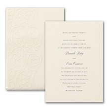 laser cut invitation: Decorative Day