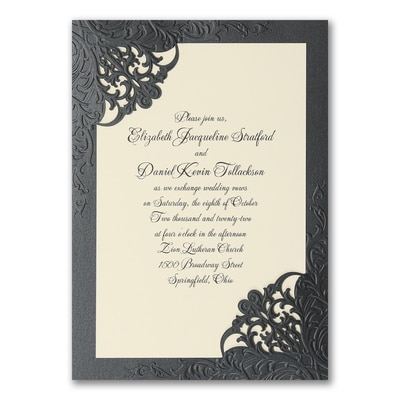 Dashing Elegance - Invitation