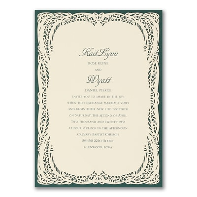 Romantic Impression - Invitation