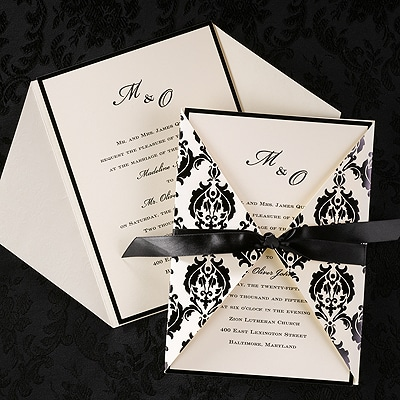 Wrapped in Elegance - Invitation