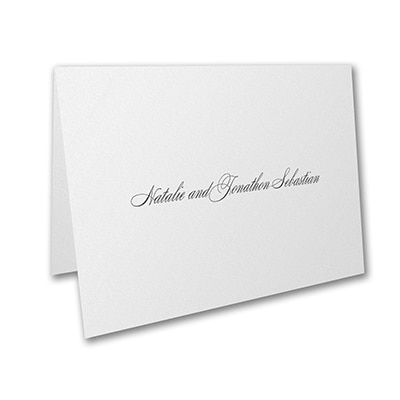 Beautiful Vows - Thank You Card and Envelope