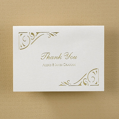 Join Our Celebration - Thank You Note and Envelope