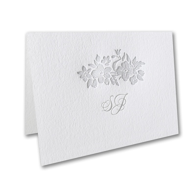 Rosy Wreath - Thank You Note