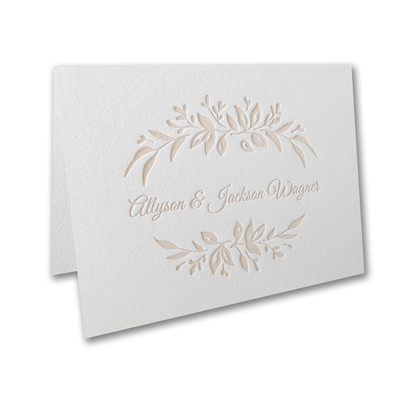 Wildflower Bliss - Thank You Note