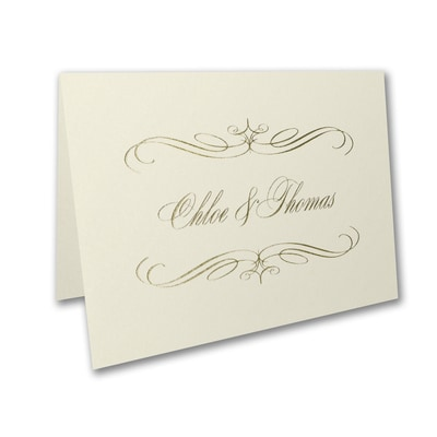 Royalty - Thank You Card and Envelope