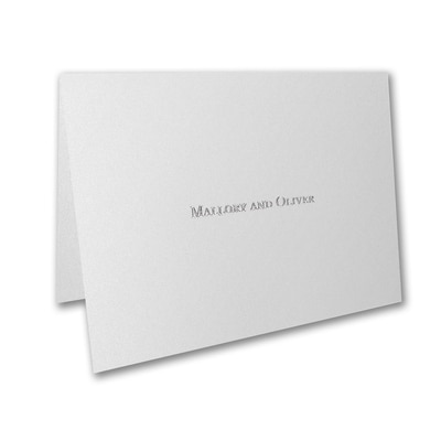 Forever Charming - Thank You Card and Envelope