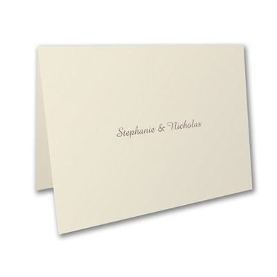 Sophisticated Elegance - Thank You Note
