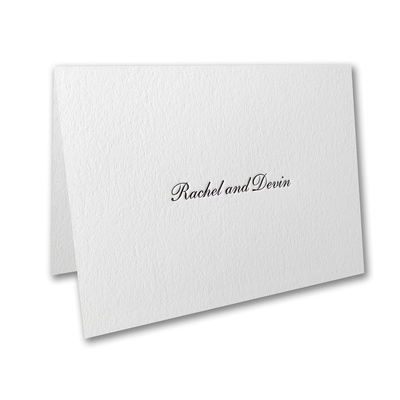 Exquisite Flourish - Thank You Note
