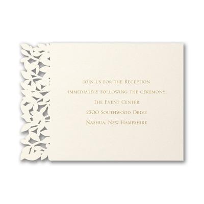 Goddess of Love - Reception Card