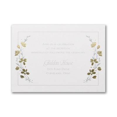 Timeless Garden - Double Thick Reception Card
