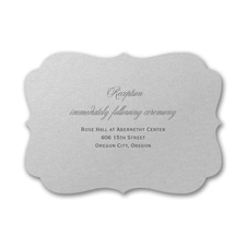 Classic Layers - Reception Card