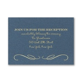 Old Hollywood Reception Card