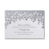 Darling Floral - Reception Card
