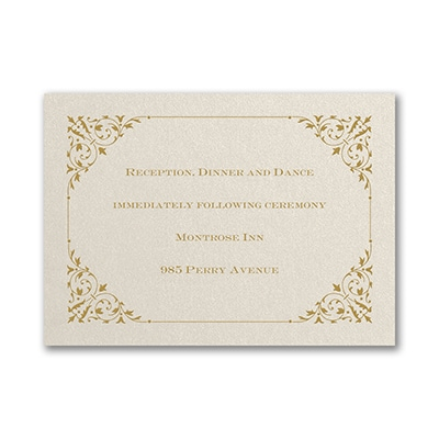 Through the Shimmer - Reception Card