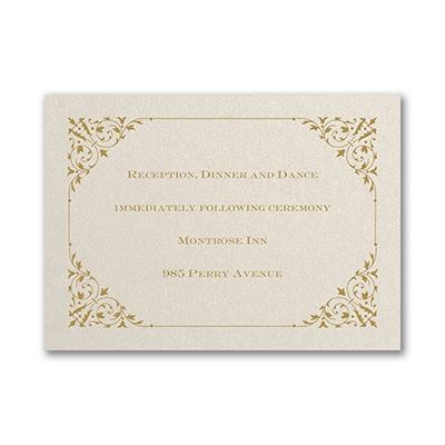 Through the Shimmer - Reception Card