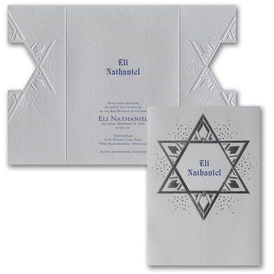 Star of David - Invitation
