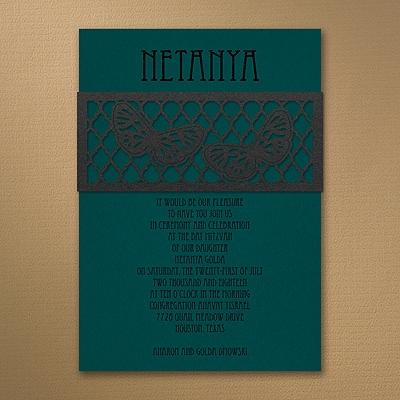 Butterfly Lattice - Invitation - Marina