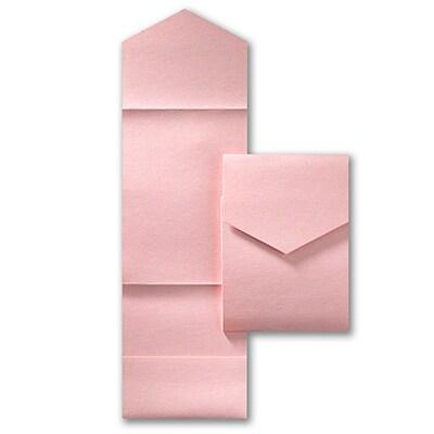 Jumbo Pocket - Pastel Pink Shimmer