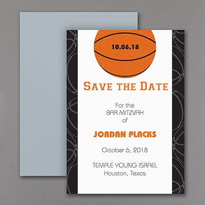 Sports Star - Basketball - Save the Date Magnet