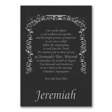 Tradition of Faith - Invitation - Black Shimmer
