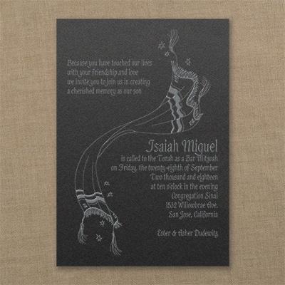 Constant Faith - Invitation - Black Shimmer