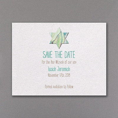 Tree of Life - Strength - Save the Date Card