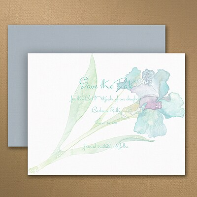 Iris - Save the Date Magnet