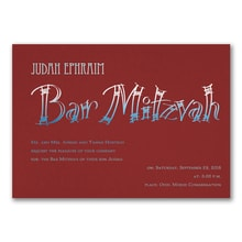 Fashion Bar Mitzvah