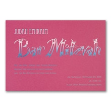 Fashion Bar Mitzvah