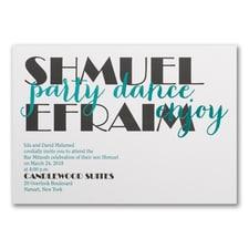 Celebrating Big - Party - Invitation