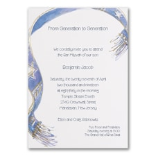 Embellished Tallit - Invitation