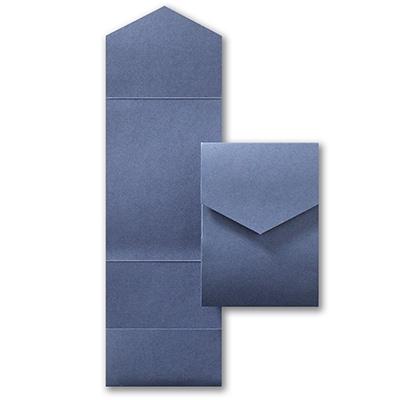 Jumbo Pocket  - Sapphire Shimmer