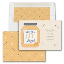 Bee Blessed - Jewish New Year Card