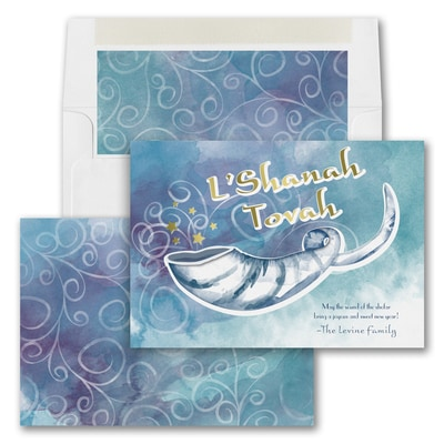 Shofar Celebration - Jewish New Year Card