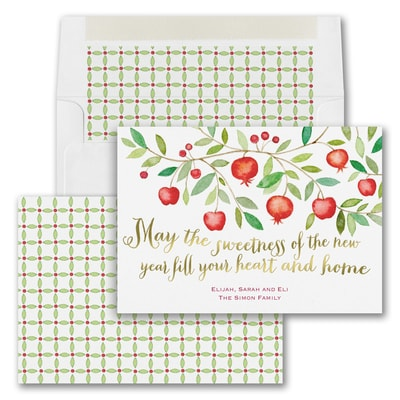 Bountiful Branch - Jewish New Year Card