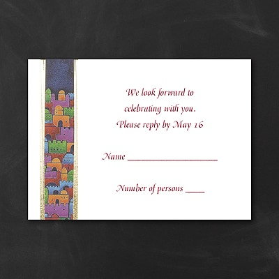 Star City - Response Card and Envelope