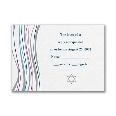 Tzitzit - Response Card and Envelope