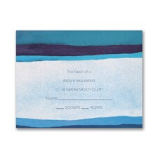 Peace - Response Card and Envelope
