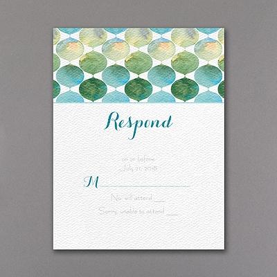 Modern Mitzvah - Response Card and Envelope