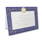 Royal Frame - Response Card and Envelope