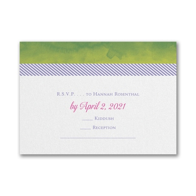 Blooming Tree - Response Card and Envelope