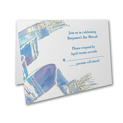 Blessed Tallit - Response Card and Envelope